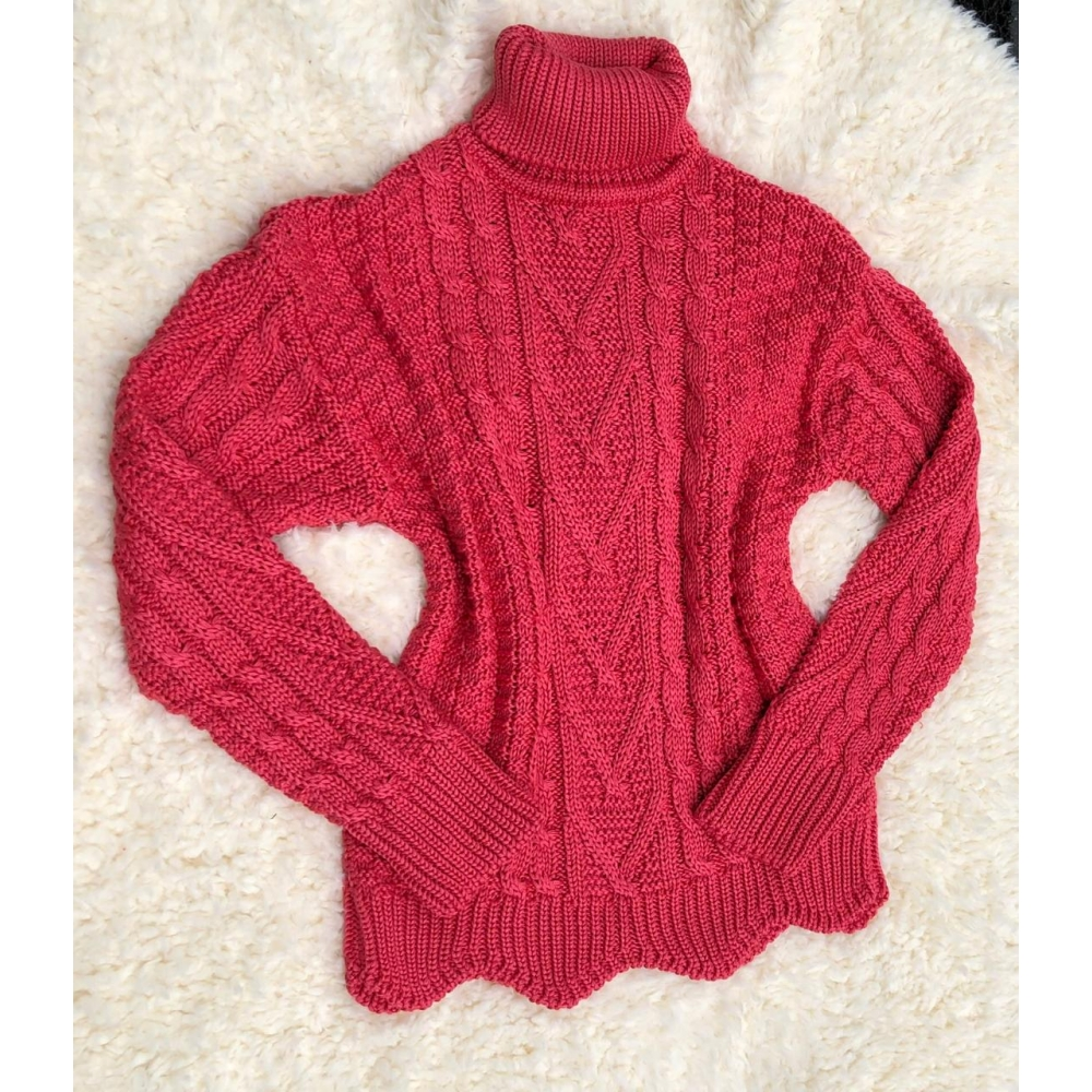 TRICOT MARIANA - CORAL